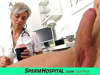Dick, Doctor, Handjob, Milf, Milk, Uniform, Young