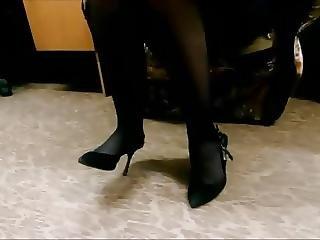 Legs, Lingerie, Skirt, Stocking, Upskirt, Voyeur