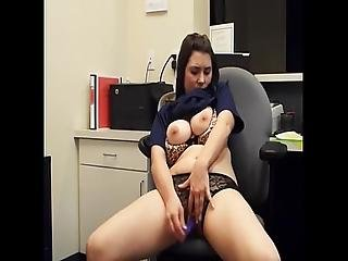 Barely Legal Masterbates In Office Www.allkindofsex.com