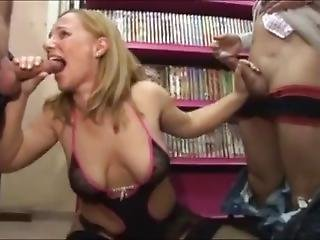 Steffi The Insatiable Hungarian Wifef Tries Gruppen Wit 3 Big Dicks