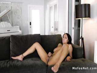 Natural Huge Tits Ebony Fucks Artist