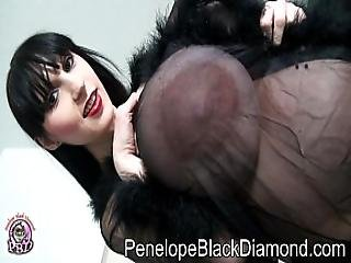 Penelope Black Diamond Blowjob Footjob Glasses Preview
