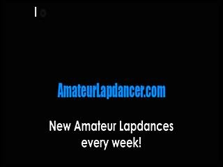 Natural Blonde Lapdances And Gives Bj