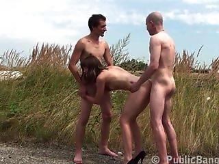 Public Naked Teen Gangbang Sex Part 5