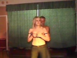 Girls Tits Out On Stage With Strippers Old Stuff