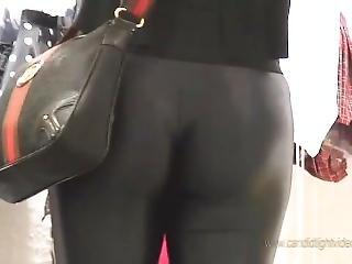 Sexy Black Shiny Leggings Brazil