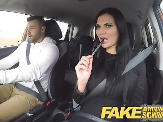 Fake Driving School Jasmine Jae Fully Naked Sex In A Car