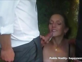 Dogging In Thhe Wood. Public Nudity