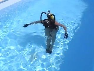 Scuba Walk In High Heels