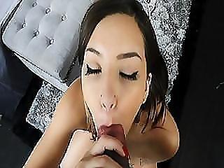Bubble Butt Zara Brooks Sucking A Thick Cock