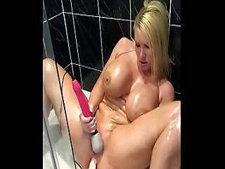 Sophie James Stretches That Ass To The Limit All Anal Oiled Up Action