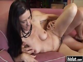 Gina Rome Loves To Ride His Cock
