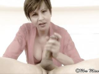 Your Dreamy Stepmom - Milf Step Mom Edging Handjob