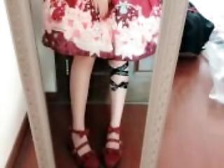 amatör, anal, kjol