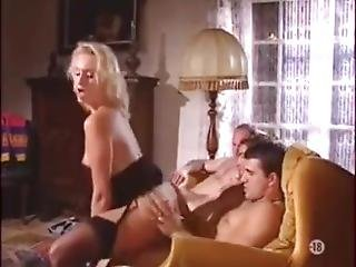 Dirty Mother Fucks Her 3 Sons While Her Husband Is On His Way Home