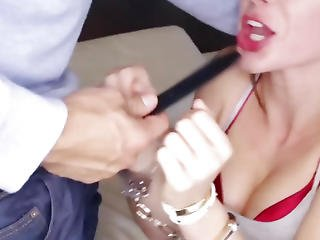 Callie Calypso Handcuffed And Banged By Her Boyfriend