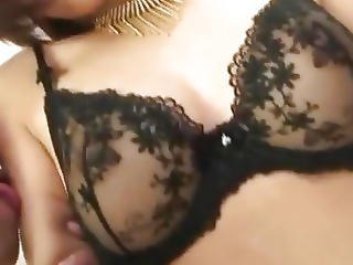 Cum On Tits After Hardcore Sex For�azumi Harusaki�