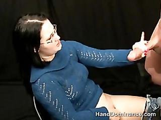 Domination, Femdom, Glasses, Jeans