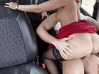 Vicky Hopped Into A Strangers Car To Her Destination