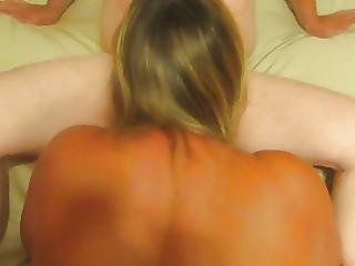 Banging My Wife From Behind While She Sucks Friends Cock