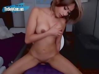amatør, cam jente, orgasme, leker, webcam