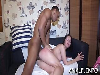 anal, pipe, canapé, nique, hardcore, Ados, Ados Anal