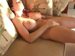 Sexy Brunette Orgasm Bouncing Tits