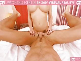 Vrbtrans.com Busty Ts Kimber Lee Anal Fucking With Red Lingerie