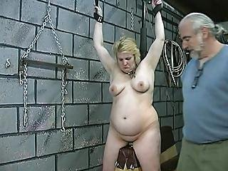 Her Body Is Almost Numb From The Torture
