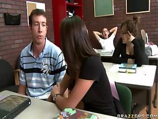 Amia Miley Is A Sexy Teacher