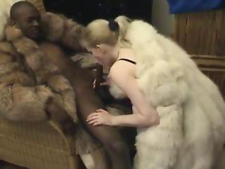 Fur Slut Fucks And Sucks Bbc