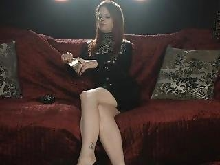 Tiffany Naylor Smoking Stronk Corks In Latex And Talking To You