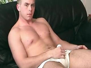 Cum Launching Hunk Pounds His Trusty Fleshlight After Blowjob He Is Shameless About Making His Big Guy Spill Huge Loads!