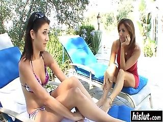 Tara Holiday And Her Friend Take Turns At Eating One Another's Cunts