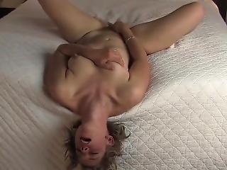 Wife Caught Masturbating On Bed