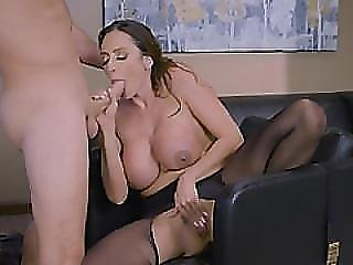 Busty Milf Pounded By Horny Boss