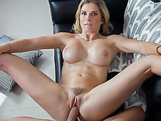 Making Stepmom Cum To Make Her Feel Better