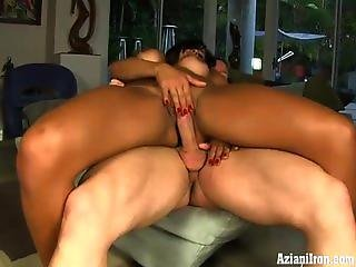 Chloe Chaos Spreads And Plays With Her Big Clit