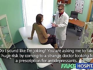 Fake Hospital Doctor Denies Antidepressants For Sex