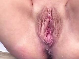 Katherine Brown.. Her Massively Huge Pussy On Display While Peeing