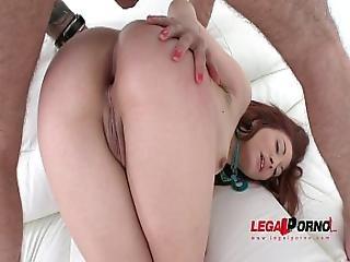 Redhead Slut Jennifer Assfucked By 3 Guys And Dp Ed Sz1271