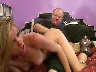 Fat Guy Spank And Fuck