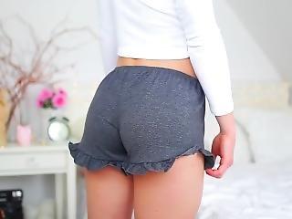 Teen In Shorts