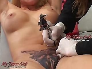 Alira Astro Pussy Tattoo