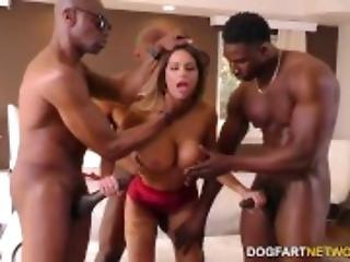 anal, grosse bite, gros téton, sperme, double pénétration, dans la tête, faux seins, gangbang, sexe en groupe, interracial, milf, pénetration, sexe, stocker, vaginal