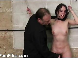 Rough Amateur Slave Honesty Calliaro Tied And Punished Hard In Dungeon Bdsm