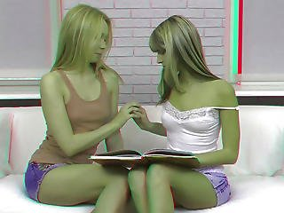 Bisexual Teens In Anal Threesome