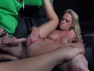 Milf In Fur Gets Picked Up And Banged In The Back Of A Car