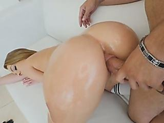 Big Load Of Dick Stretching Tight Cunt