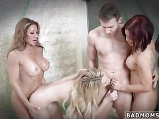 Milf And Young S Perky While Aunt Sleeps Taboo First